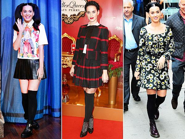 Katy Perry style, hair