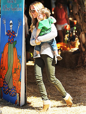 Kristin Cavallari pumpkin patch