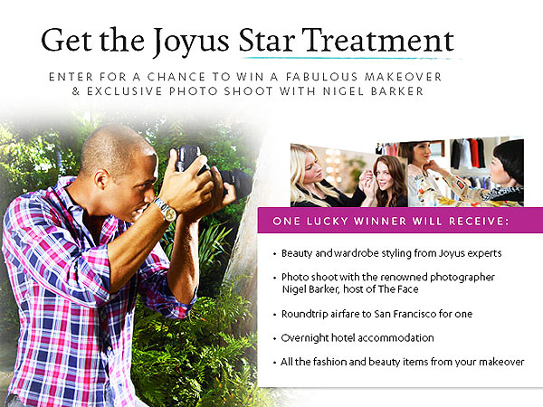 Joyus San Francisco sweepstakes, giveaway