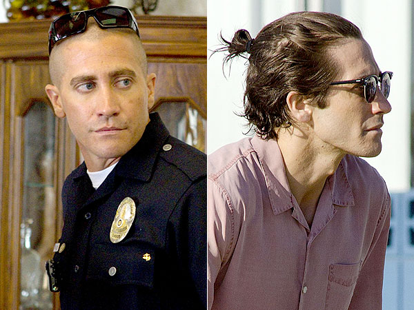 Jake Gyllenhaal man bun, hair