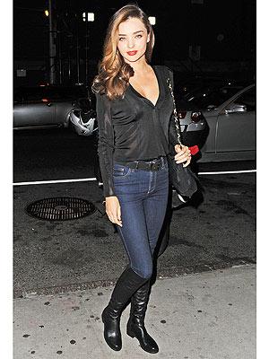Miranda Kerr sexy boots
