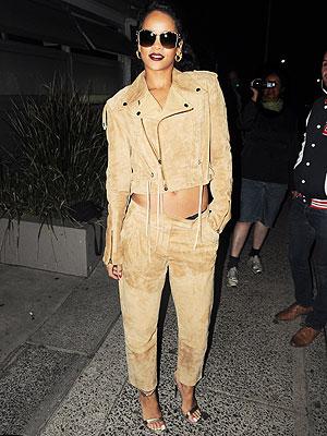 Rihanna Wears Holmes & Yang