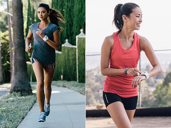 Shay Mitchell, Jamie Chung Marathon
