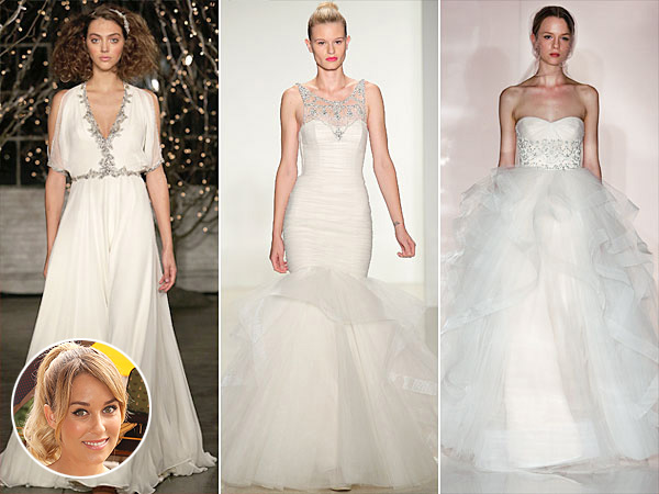 Lauren Conrad, Wedding Dresses