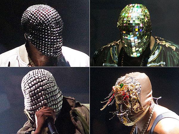 Kanye West Yeezus Tour Masks