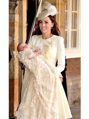 Kate Middleton Alexander McQueen, Prince George Christening