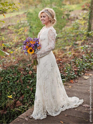 Kelly Clarkson wedding gown