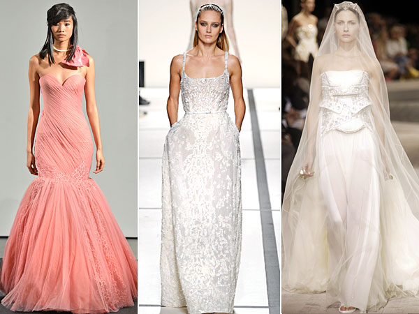 kim kardashian 3 dresses 2 600x450 Kim Kardashians Wedding Dress: Let the Planning Begin!