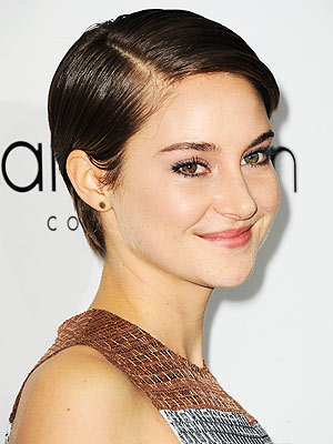 Shailene Woodley haircut