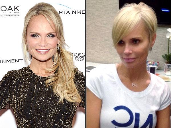 Kristin Chenoweth did not dress up as Pamela Anderson and her pixie    Kristin Chenoweth Pixie Cut