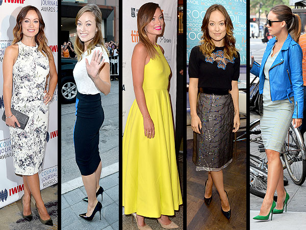 Olivia Wilde Jimmy Choos
