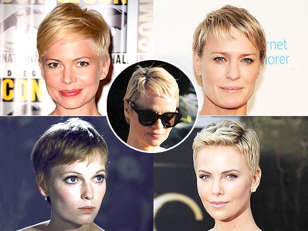 Pamela Anderson haircut