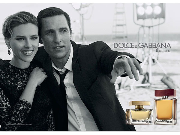 Scarlett Johnasson and Matthew McConaughey Dolce & Gabbana
