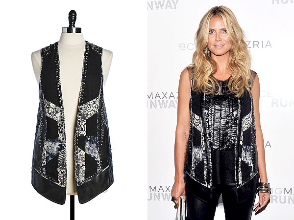 Heidi Klum clothing auction