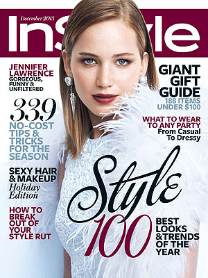 Jennifer Lawrence InStyle