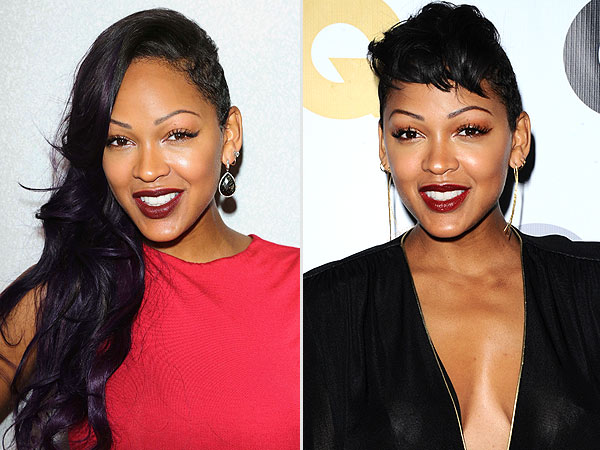 Meagan Good haircut