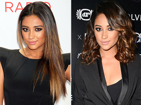 Shay Mitchell haircut