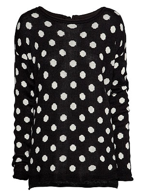 H&M polka dot sweater