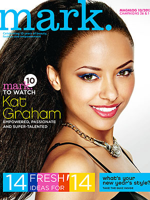 Kat Graham Marks Cosmetics