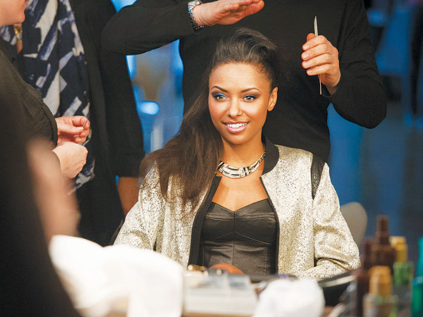 Kat Graham Mark Cosmetics Campaign