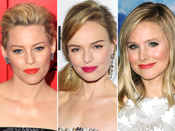 Celebrity bright lipsticks