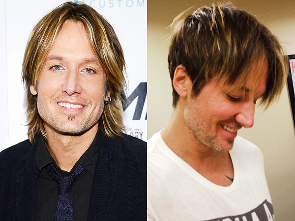 Keith Urban haircut