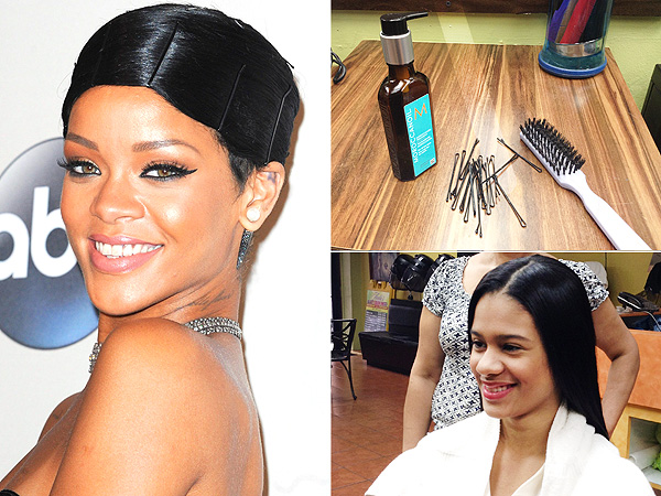 dorothy hairstyle : ... : Rihannas Doobie Wrap: Five Things to Know About Her AMAs Hairstyle