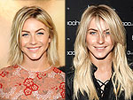 Julianne Hough Gets Extensions (We're Shedding a Tear for Her Short Hair)
