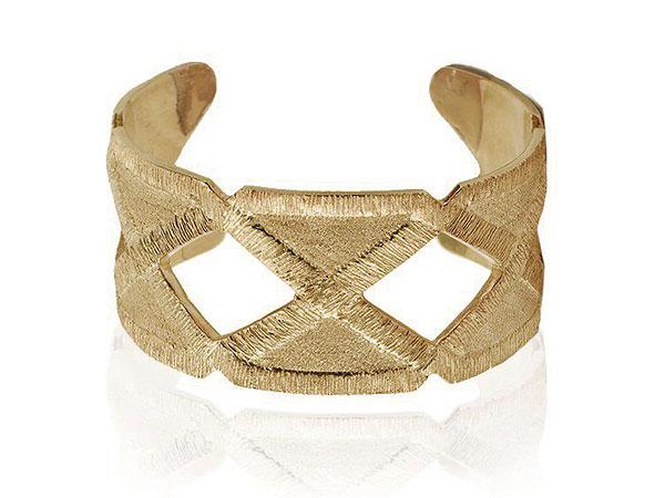 Joan Hornig brass cuff