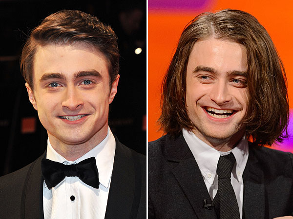 Daniel Radcliffe long hair