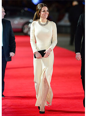Kate Middleton Roland Mouret gown best dressed