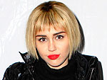 PHOTO: Miley Cyrus Wigs Out with a Sleek Banged Bob