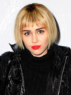 Miley Cyrus bob