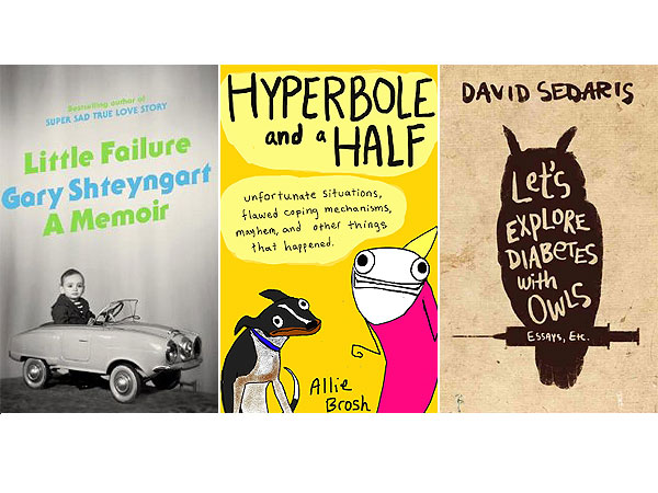 What We're Reading This Weekend: Funny Memoirs