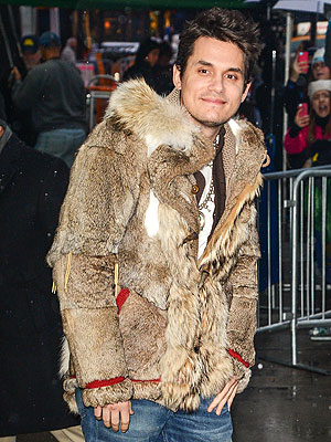 John Mayer Reindeer coat