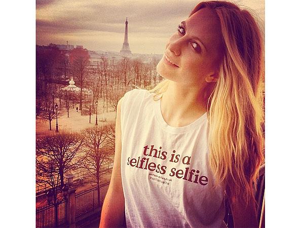 Poppy Delevingne t-shirt