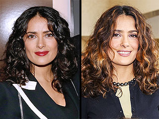 Is Salma Hayek Going from Brunette to Blonde? See the Photos!