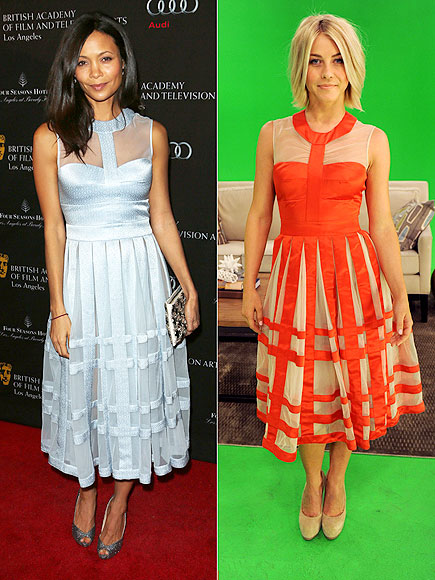 THANDIE VS. JULIANNE photo | Julianne Hough, Thandie Newton