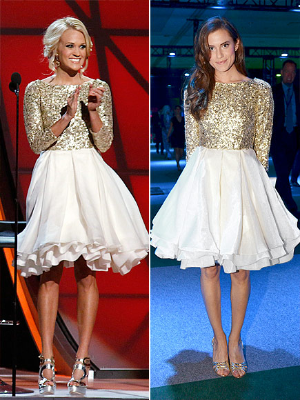 CARRIE VS. ALLISON photo | Allison Williams, Carrie Underwood
