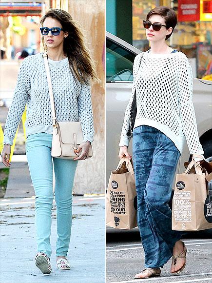 JESSICA VS. ANNE photo | Anne Hathaway, Jessica Alba