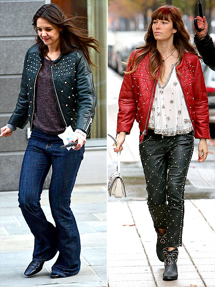 KATIE VS. JESSICA photo | Jessica Biel, Katie Holmes