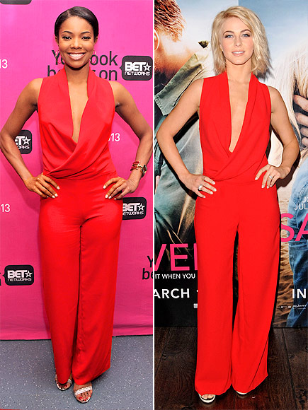 GABRIELLE VS. JULIANNE photo | Gabrielle Union, Julianne Hough