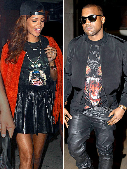 RIHANNA VS. KANYE  photo | Kanye West, Rihanna