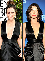 Fashion Faceoff: Katharine vs. Cobie and More! | Cobie Smulders, Katharine McPhee