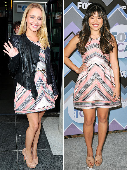 HAYDEN VS. JENNA photo | Hayden Panettiere, Jenna Ushkowitz