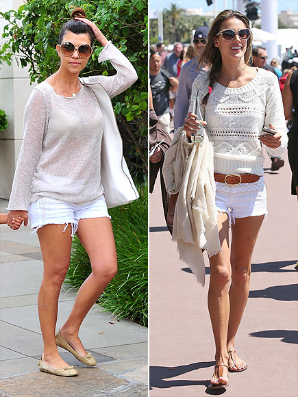 KOURTNEY VS. ALESSANDRA  photo | Alessandra Ambrosio, Kourtney Kardashian