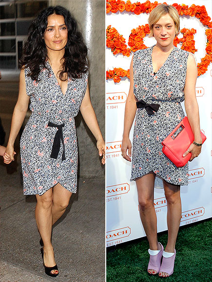 SALMA VS. CHLOË photo | Chloe Sevigny, Salma Hayek