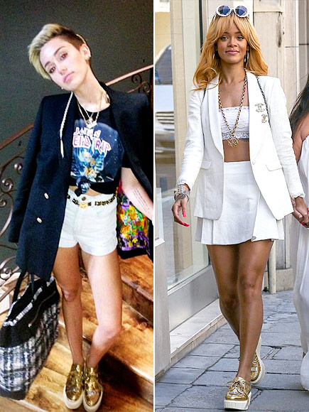 MILEY VS. RIHANNA