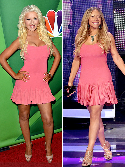 CHRISTINA VS. MARIAH photo | Christina Aguilera, Mariah Carey