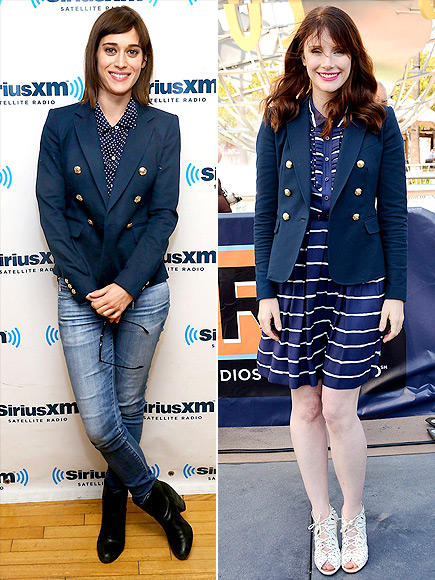 LIZZY VS. BRYCE photo | Bryce Dallas Howard, Lizzy Caplan